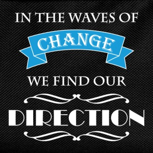 In the waves of change we find our direction T-shirts - Rugzak voor kinderen