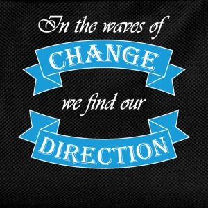 In the waves of change we find our direction Sweaters - Rugzak voor kinderen