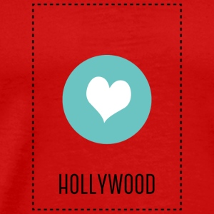 I Love Hollywood Langærmede T-shirts - Herre premium T-shirt