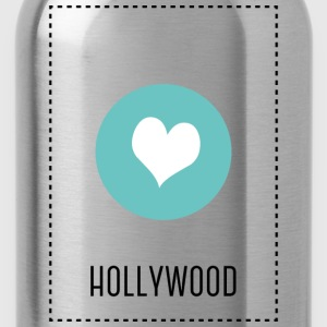 I Love Hollywood T-Shirts - Water Bottle