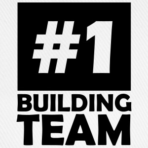 number one building team T-Shirts - Baseball Cap