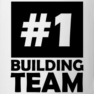 number one building team T-Shirts - Mug