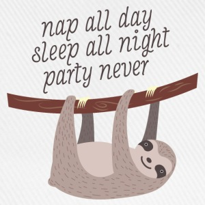 Nap All Day, Sleep All Night, Party Never T-Shirts - Baseball Cap