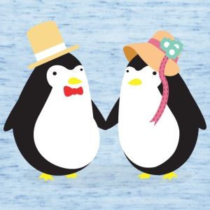 Penguine Couple T-Shirts - Frauen Tank Top von Bella