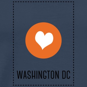 I Love Washington DC Sports wear - Men's Premium T-Shirt