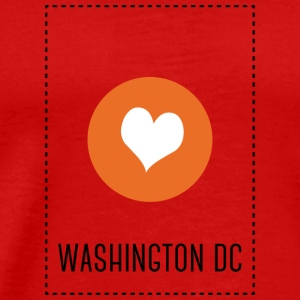 I Love Washington DC Long Sleeve Shirts - Men's Premium T-Shirt