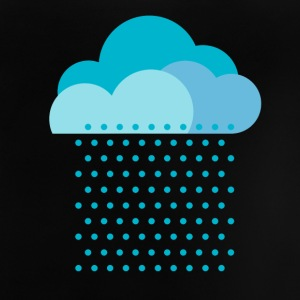 We love rain! weather, cloud, autumn, bike T-shirts - Baby T-shirt