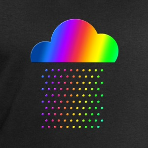 Colorful Weather - We love rain! rainbow cloud gay Shirts - Men's Sweatshirt by Stanley & Stella