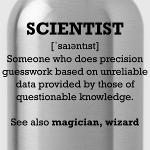 Scientist - Wizard - Trinkflasche
