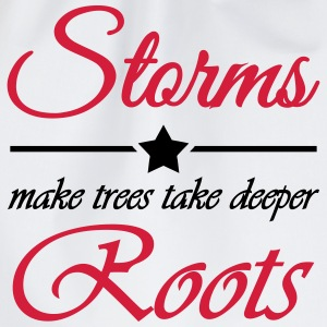 Storms make trees take deeper roots T-Shirts - Turnbeutel