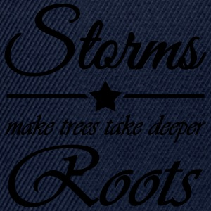 Storms make trees take deeper roots Sportkleding - Snapback cap
