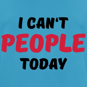 I can't people today Sportkläder - Andningsaktiv T-shirt herr