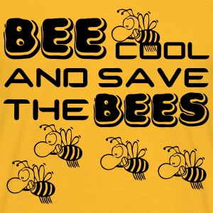 Bee cool & save the Bees Tops - Männer T-Shirt