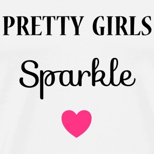 Pretty Girls Sparkle Vêtements Sport - T-shirt Premium Homme