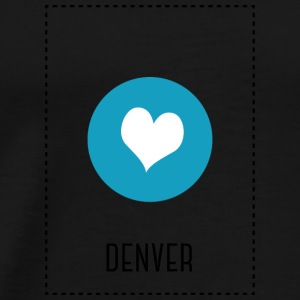I Love Denver Baby Bodysuits - Men's Premium T-Shirt