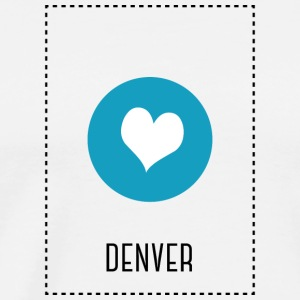I Love Denver Sweat-shirts - T-shirt Premium Homme