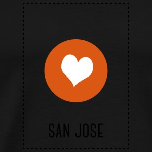 I Love San Jose Long sleeve shirts - Men's Premium T-Shirt