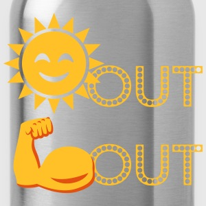 Suns Out, Guns Out EmojI T-Shirts - Water Bottle