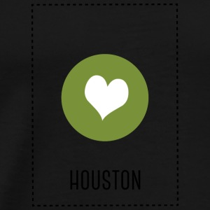 I Love Houston Babybody - Premium T-skjorte for menn