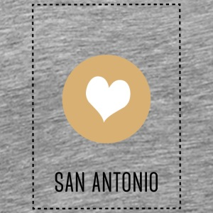 I Love San Antonio Sports wear - Men's Premium T-Shirt