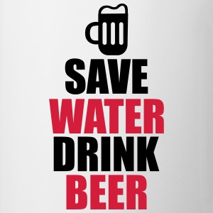 T-shirt save water drink beer - Tazza
