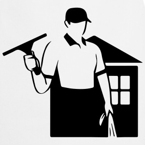 window cleaner T-Shirts - Cooking Apron
