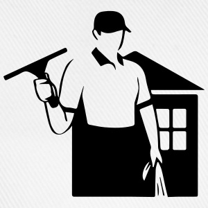 window cleaner Shirts - Baseball Cap
