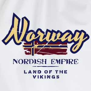Norway - Nordish Empire - Land of the Vikings T-Shirts - Turnbeutel