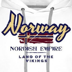 Norway - Nordish Empire - Land of the Vikings T-Shirts - Männer Premium Hoodie