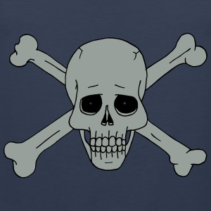 Jolly Roger Scull 2 Shirts - Men's Premium Tank Top