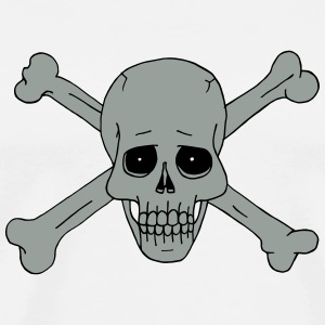 Jolly Roger Scull 2 Other - Men's Premium T-Shirt