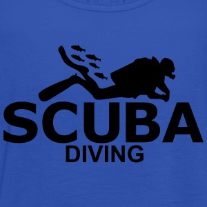 scuba diving T-Shirts - Women's Tank Top by Bella