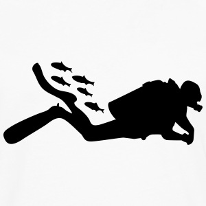 diving T-Shirts - Men's Premium Longsleeve Shirt