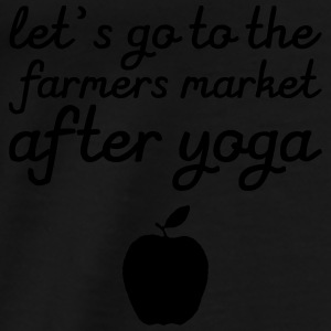 Let's go to the farmer's market Tops - Mannen Premium T-shirt