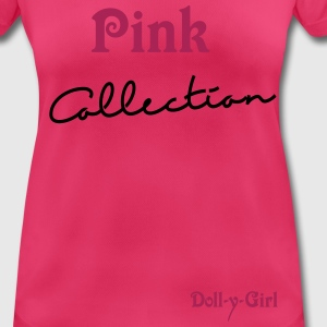 Pink  Collection Tops - Frauen T-Shirt atmungsaktiv