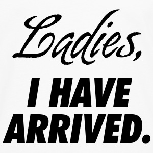 Ladies, I have arrived Babybody - Premium langermet T-skjorte for menn