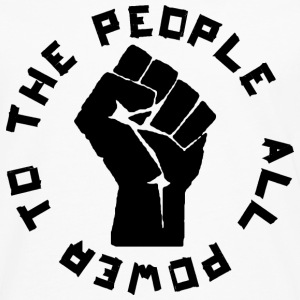 All Power to the people - Männer Premium Langarmshirt