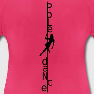 Poledance Tops - Frauen T-Shirt atmungsaktiv