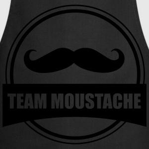 Team moustache - Tablier de cuisine
