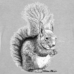 Red Squirrel T-Shirt - Kid's - Baby T-Shirt