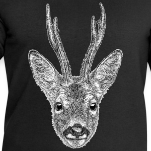 Roe Deer Stag T-Shirt - Men's - Men's Sweatshirt by Stanley & Stella