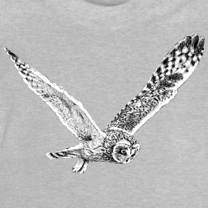 Flying Owl T-Shirt - Kid's - Baby T-Shirt
