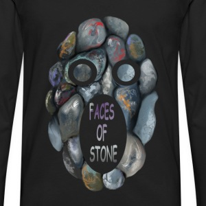 FACES OF STONE - Männer Premium Langarmshirt