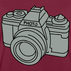 Camera (SLR) 2  Aprons - Women's Oversize T-Shirt