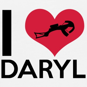 I Love Daryl Mugs & Drinkware - Men's Premium T-Shirt