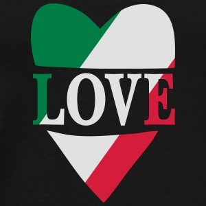 Love Italy Bags & Backpacks - Men's Premium T-Shirt