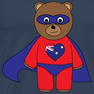 Aussie Hero Bear tank - Men's Premium T-Shirt