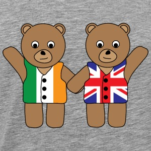 British Irish Friend Bears tank - Men's Premium T-Shirt
