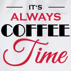 It's always coffee time Langærmede t-shirts - Sportstaske
