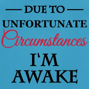 Due unfortunate circumstances I'm awake Sportkläder - Andningsaktiv T-shirt herr